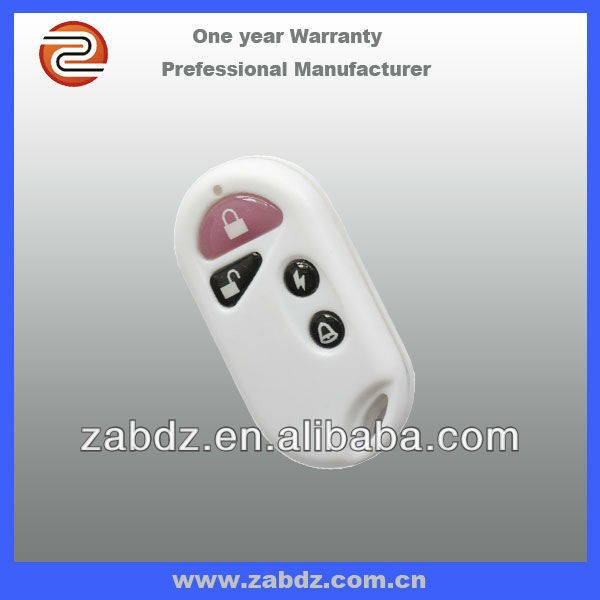 new and hot sell ZY3-4E Small power wireless waterproof 4 key remote control