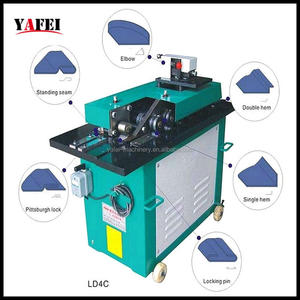 standing seam shape locking machine for ventilation systems duct marking
