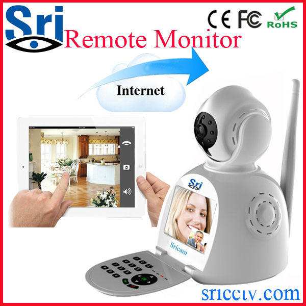 P2P 3G sim card indoor wireless network security ip gsm android 3g alarm camera