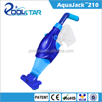 AquaJack electric portable swimming pool cleaner vacuum cleaner rechargeable pool vacuum
