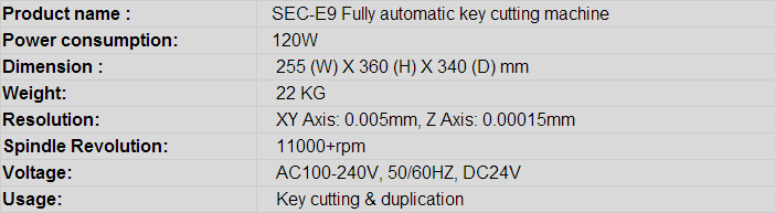 key cutting and programming machine