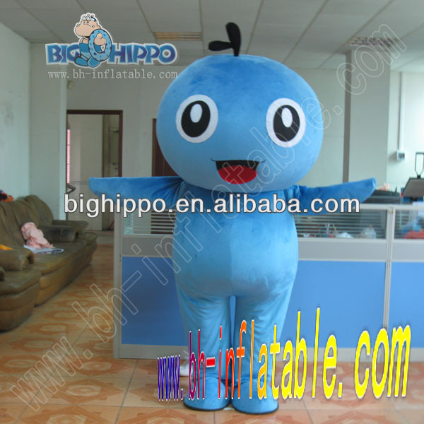 Blueberry mascot costume