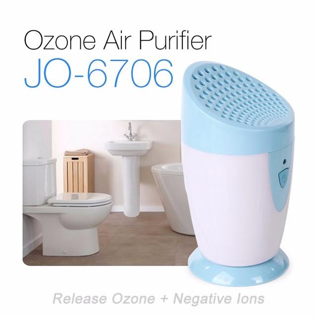 Mini Ozone Bathroom Toilet Odor Eliminator