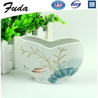 6 Inch Chinese Style Ceramic Material Porcelain Flower Vase for centerpieces
