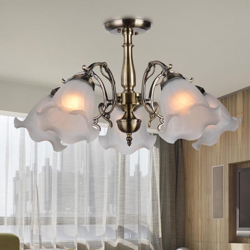 Inexpensive Ceiling Lights: Cheap European Semi Hanging Ceiling Light / Low Floor