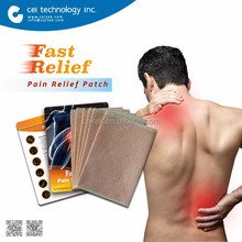 2017 Chinese Herbal Hot Muscle Pain Relief Patch