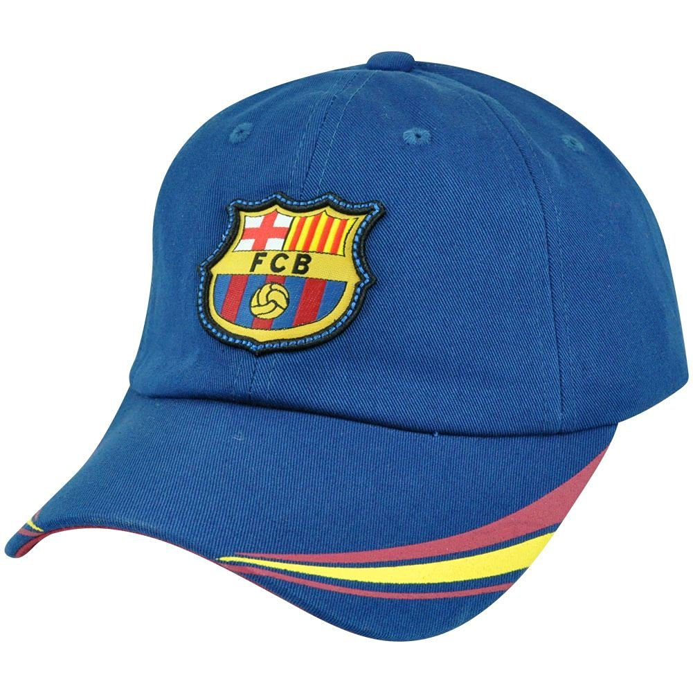 9cb4d94d69e Get Quotations · Barca FC Barcelona Spain Espana La Liga Garment Wash  Futbol Soccer Gorra Hat Cap