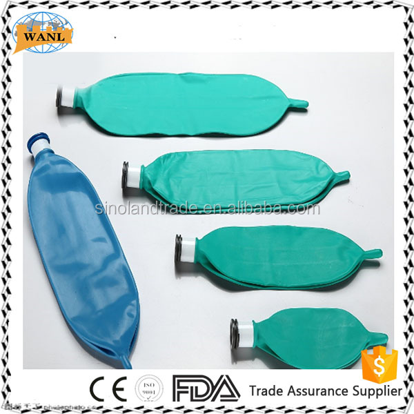 disposable resuable silicone latex breathing bag reservoir bag