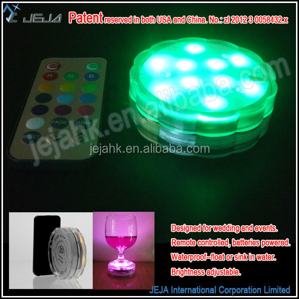 Hot new products color changing led lamp for event decoration