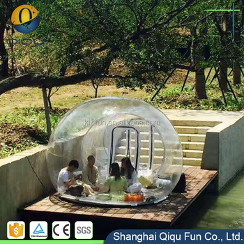 f8e9904b313 New design clear inflatable party bubble tent for sale   life size snow globe  transparent dome