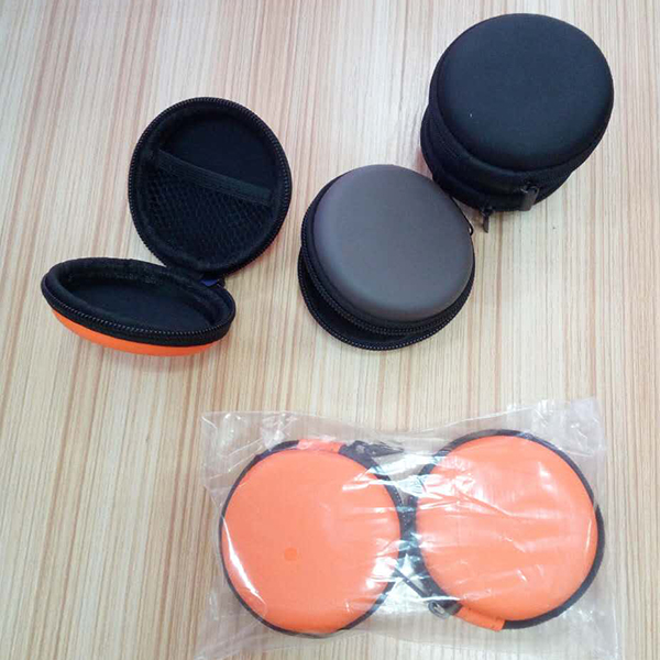 Portable Mini Round <strong>Hard</strong> Storage <strong>Case</strong> Bag