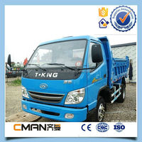 China Famous Brand T-king 3 Tons Mini Dump Truck 4x2 For Sale ...