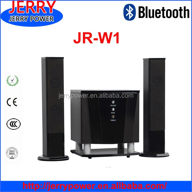 Jerry 2.1 Big Power Home Theater Speaker Super Bass Sound System ...