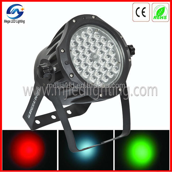Cheap Price Waterproof Led Par Can 36leds 3w RGB DMX Outdoor/indoor Led Par Light