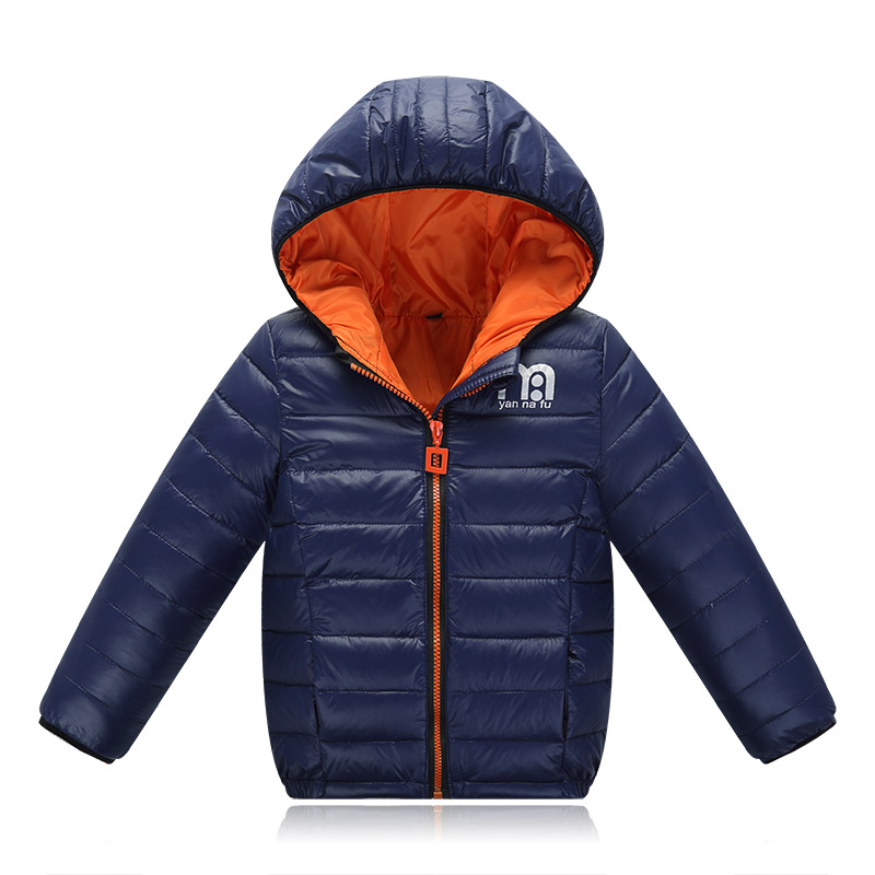 Boys Winter Jacket 2016 New Brand Hooded Kids Girls Winter