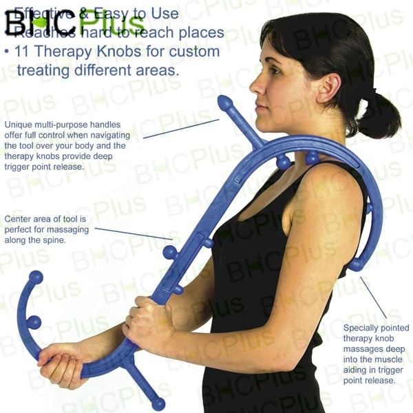 New&Hot Body Back Buddy Trigger Point Self-Massage Tool