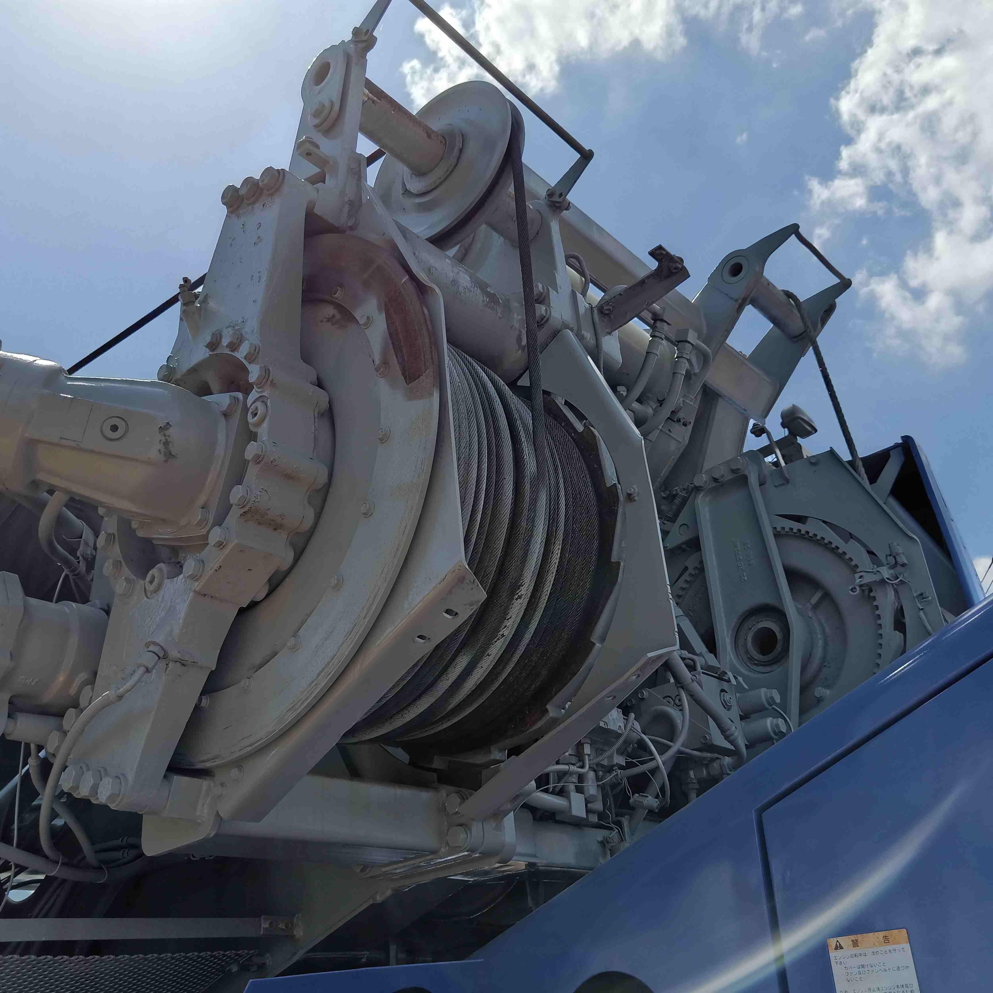 Used Komatsu 50 Ton Truck Crane In Good Working Condition