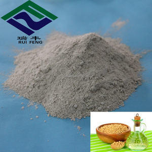 25kg bentonite bags charms polymer clay for refined soybean oil