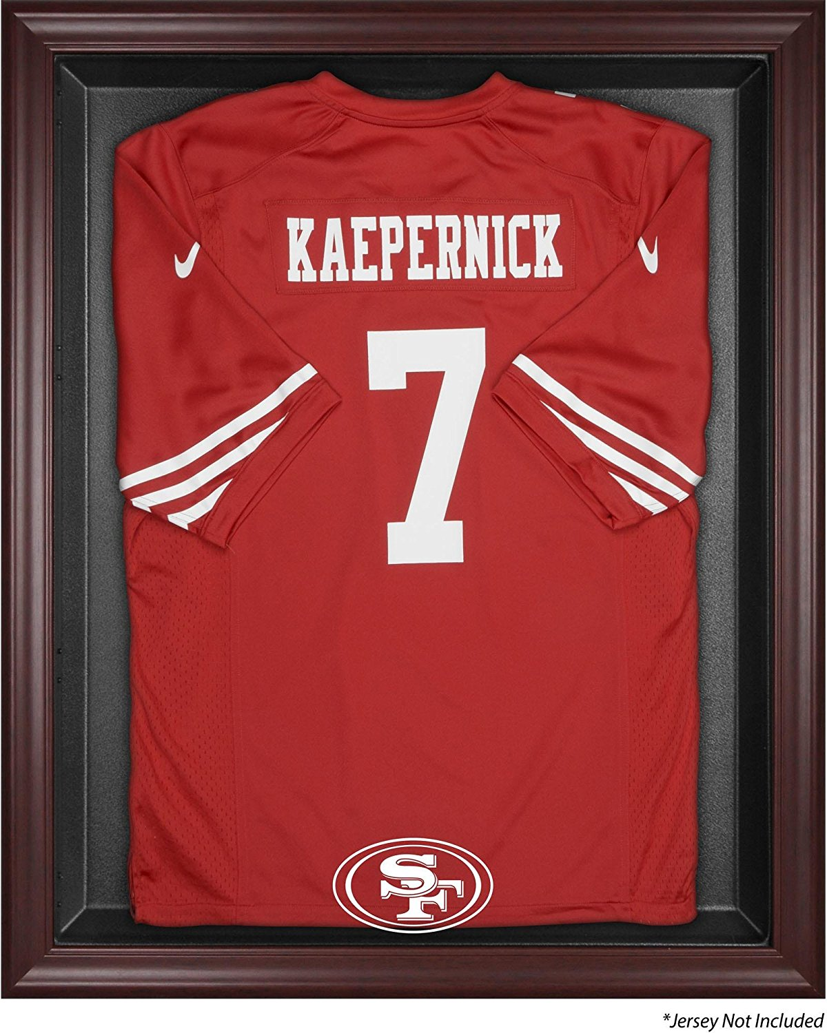 Get Quotations · Mounted Memories San Francisco 49ers Mahogany Frame Jersey  Display Case 3429551e3