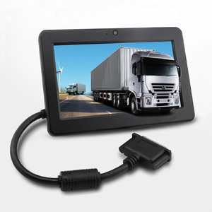 7'' GPS mobile data terminal MDT for taxi dispatch fleet tracking system, Rockchip solution