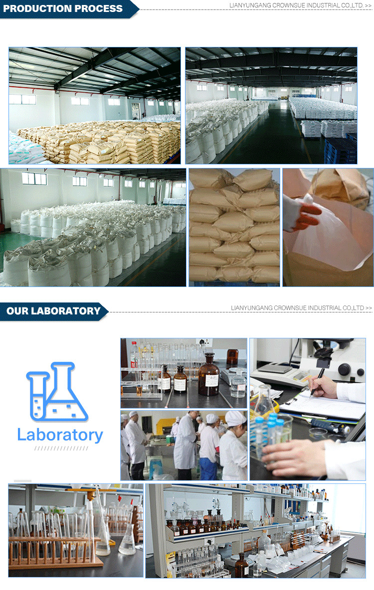 Crownsue Chemical Factory Food Additives Potassium Citrate Citric Acid Price