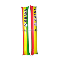 OEM Flag Design Inflatable Thunder Cheering Plastic Air Stick