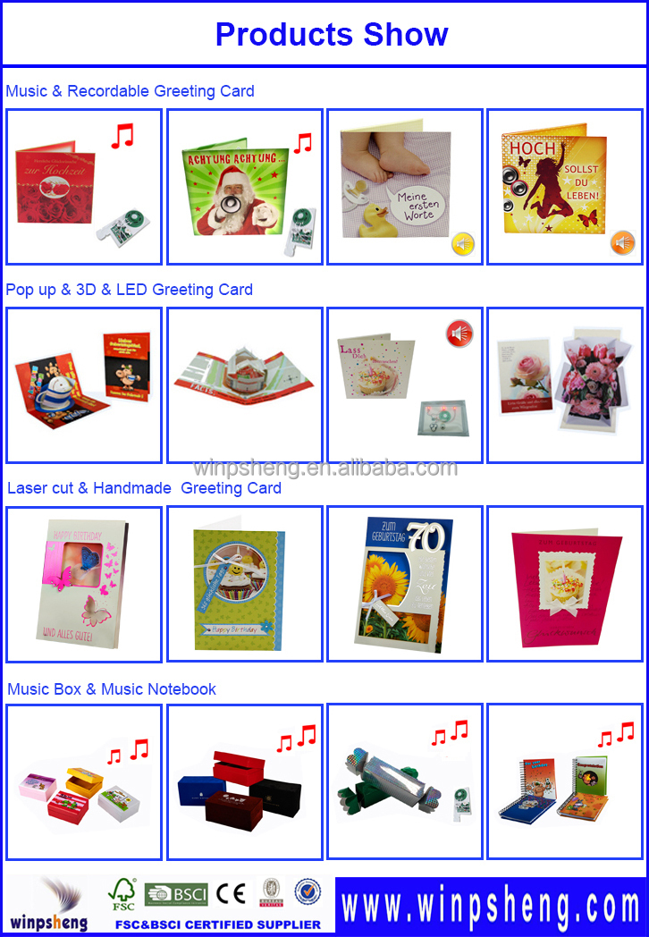 Best Happy Birthday Greeting Cards Sound Module With Cob Ic Chip – Birthday Cards Play Music