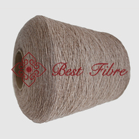 Blended yarn with 30% high quality rare Bison fiber and 70% baby soft wool