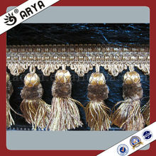 Textile Curtain Tassel Fringe,Trims for Curtain Decoration,Curtain Lace Trimmings