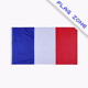 Wholesale Hot Sell 3x5ft France Flag French Flag National Flag Have STOCK(you can choice whether add eyelets)