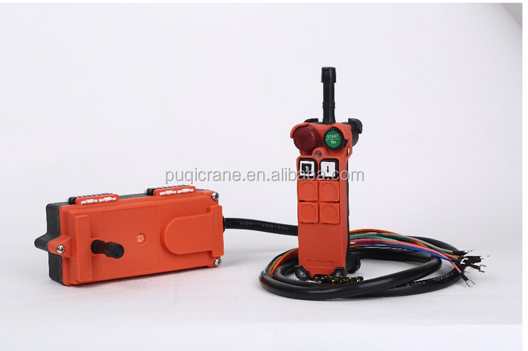 2016 new products AC 110v F21-2s wireless radio remote control double industrial joystick control for crane