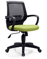 reclining office chair back support cushion seat cover fabric