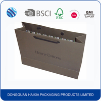China manufacturer custom printed paper shopping bag
