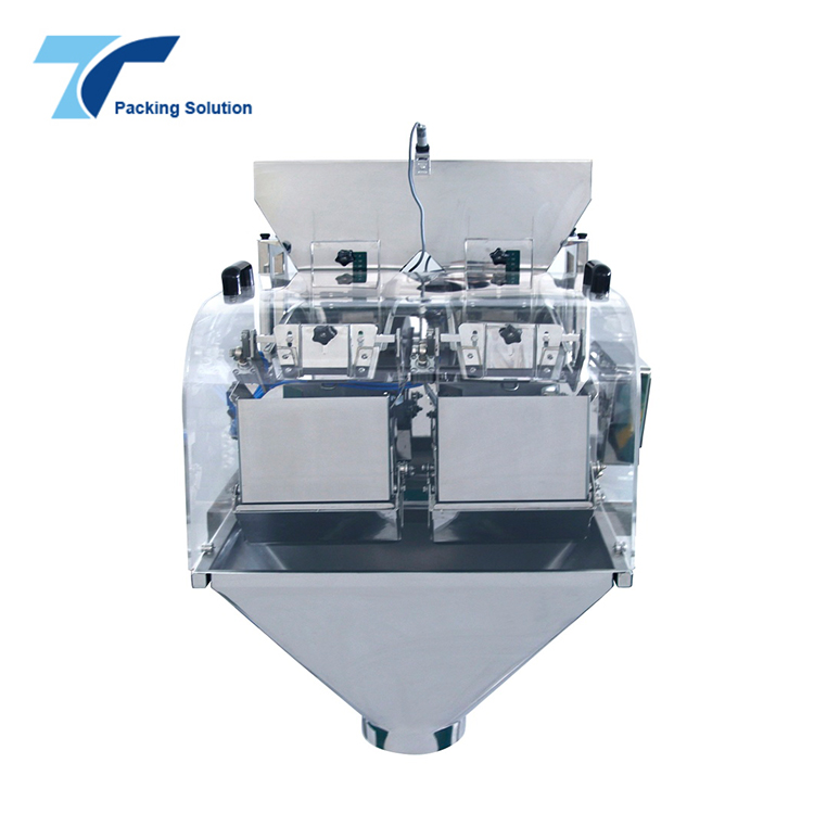 Automatic 2 Head Coffee Powder Pouch Weighing Filling Machine