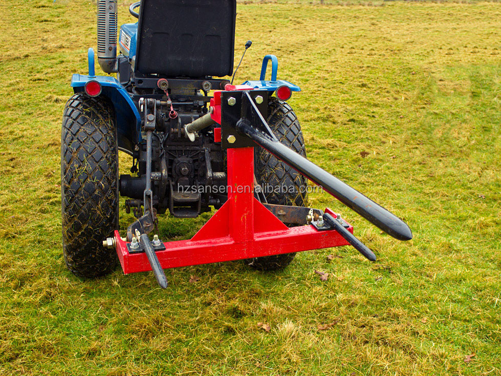 3 Point Tractor Broke : Point tractor bale spear implements for tractors