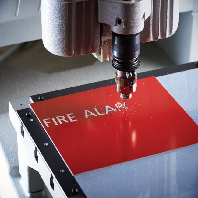 High Quality Laser/cnc Engraving <strong>Abs</strong> Double Colour Plastic Sheet/board/panel/plate For Advertising