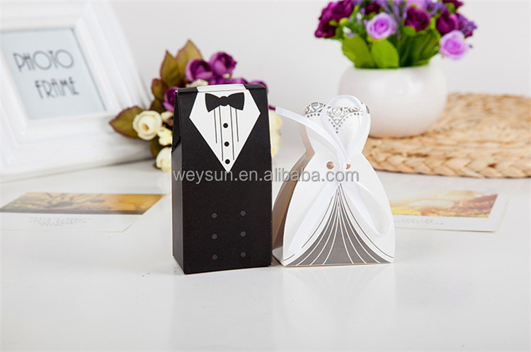Bride And Groom Box Wedding Boxe Favors Bo Favour