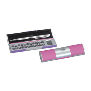 Hot selling logo printed cheap pen calculator for promotion