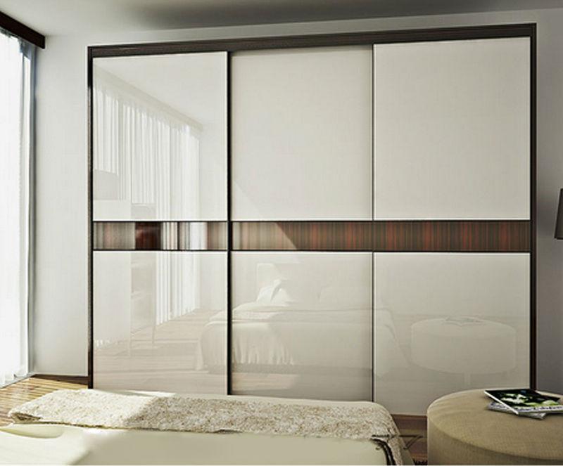 Glossy Finish Modern Design High Gloss Bedroom Wardrobe