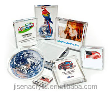 Acrylic paperweights block for novelty gift items buy for Wholesale glass blocks for crafts