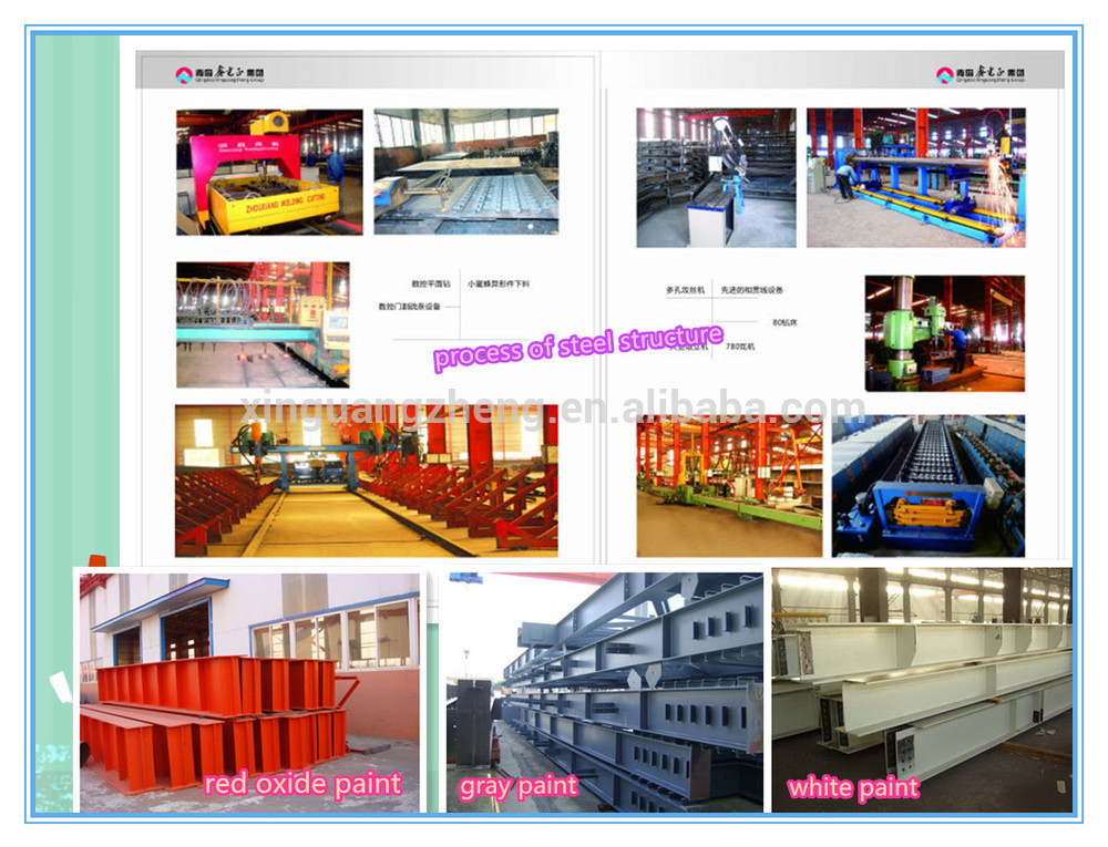 China Manufactuer Prefabricated Light Steel Building Construction
