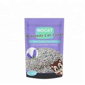 New pet products premium high efficient clumping Cat litter OEM & ODM service Cat sand bulk wholesale