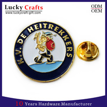High quality custom logo soft enamel arts and crafts lapel pin badge manufacturers china