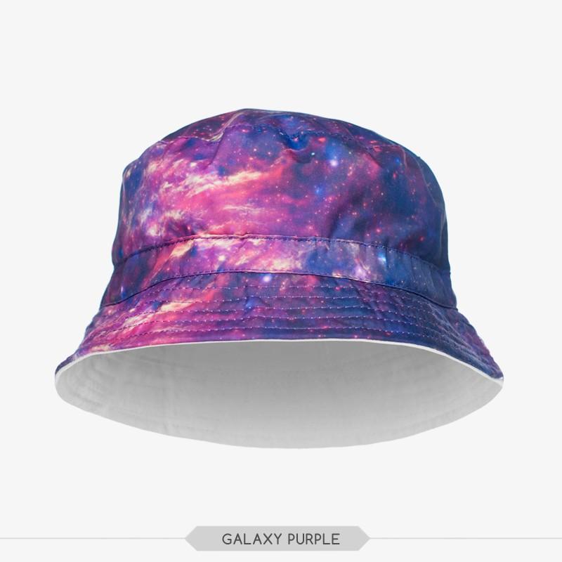 ad81ff033ed New Arrival Digital Print Galaxy Marijuana Print Bucket Hat - Buy ...