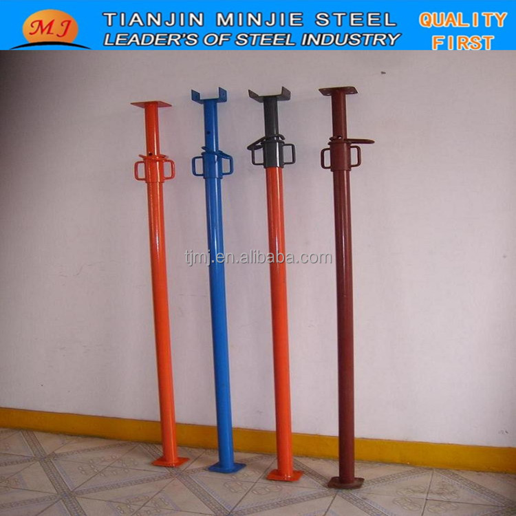 Q235 PAINTED IN VARIOUS COLOR SCAFFOLDING STEEL PROPS