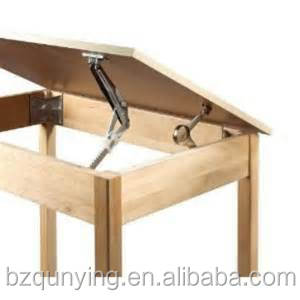 Multi Gear Adjustable Metal Drafting Table Hinge