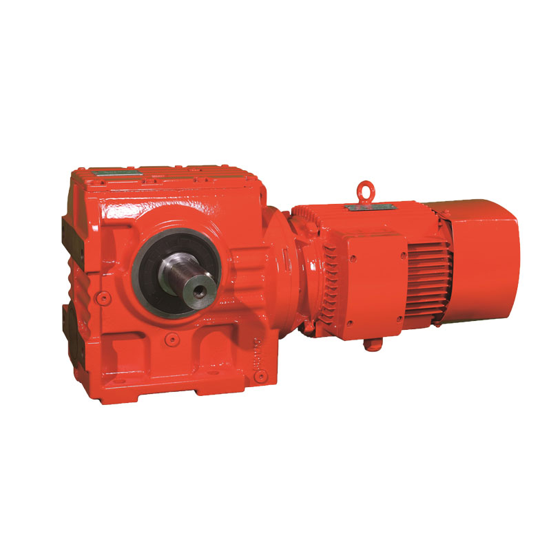 S Series Helical ac worm gear motor 1:30 Ratio Gearbox