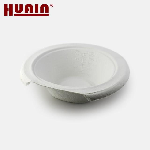 Environmentally Molded Pulp G Bowl
