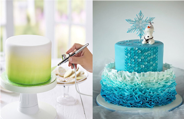 Cake decorating airbrush machine buy cake decorating for Airbrush cake decoration