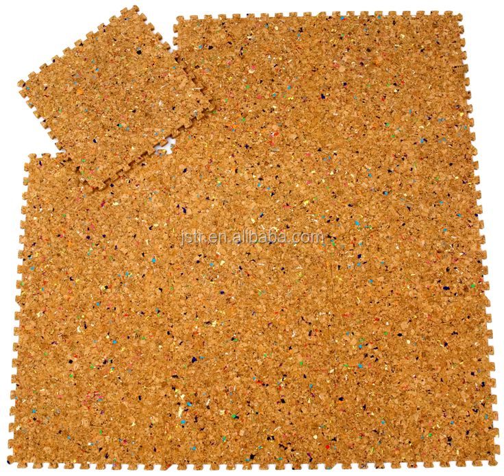 anti-fatigue EVA cork mats
